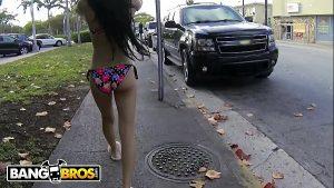 Image BANGBROS – Skinny Venezuelan Babe Veronica Rodriguez in Miami Beach