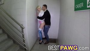 Image Lynna Nilsson Taking Big Dickin a Staircase pb14043 HD 720p